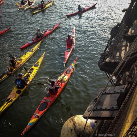 Canoe parade - Sail Amsterdam 2015