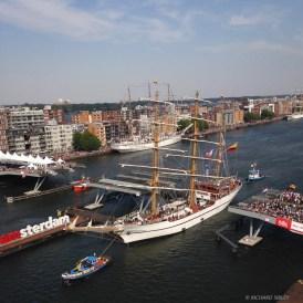 3 Masted Barque Guayas - Sail Amsterdam 2015