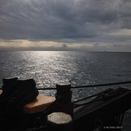 Stormy weather - Sailing to Dover