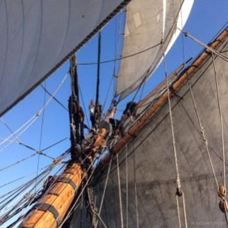 Sailing to Gt Yarmouth