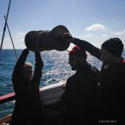 Setting up the ships log - Sailing to Gt Yarmouth