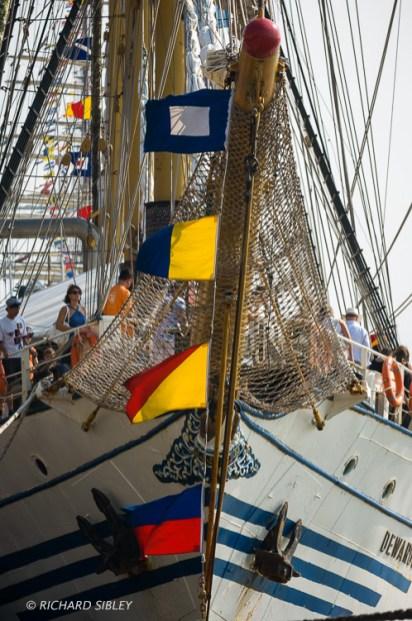 Barquentine 'Dewaruci' Indonesia - Antwerp Tall Ships Race 2010