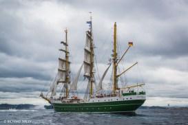 German Barque 'Alexander von Humboldt ll'