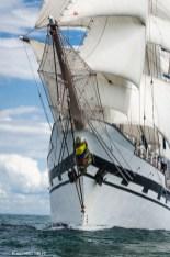 3 Masted barque, Simon Bolivar, Venezuela. Torbay - Lisbon