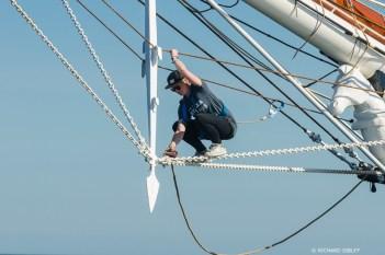 Dutch clipper brig Morgenster