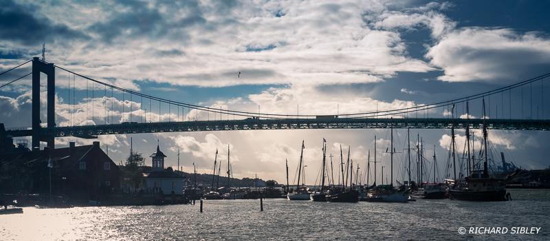 Alvsborg Bridge over the Gota Alv