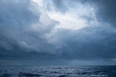 A break in the cloud