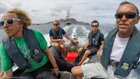 Morgenster's Navy Seals head for the shore