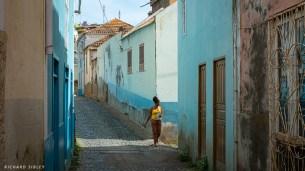 Narrow streets, Tarrafal de Sao Nicolau