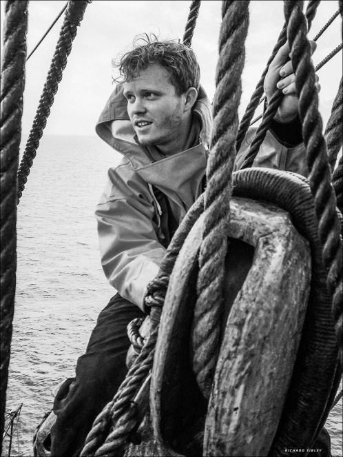 Brendan. The Swedish ship Gotheborg. Vanern-Varberg expedition 2015