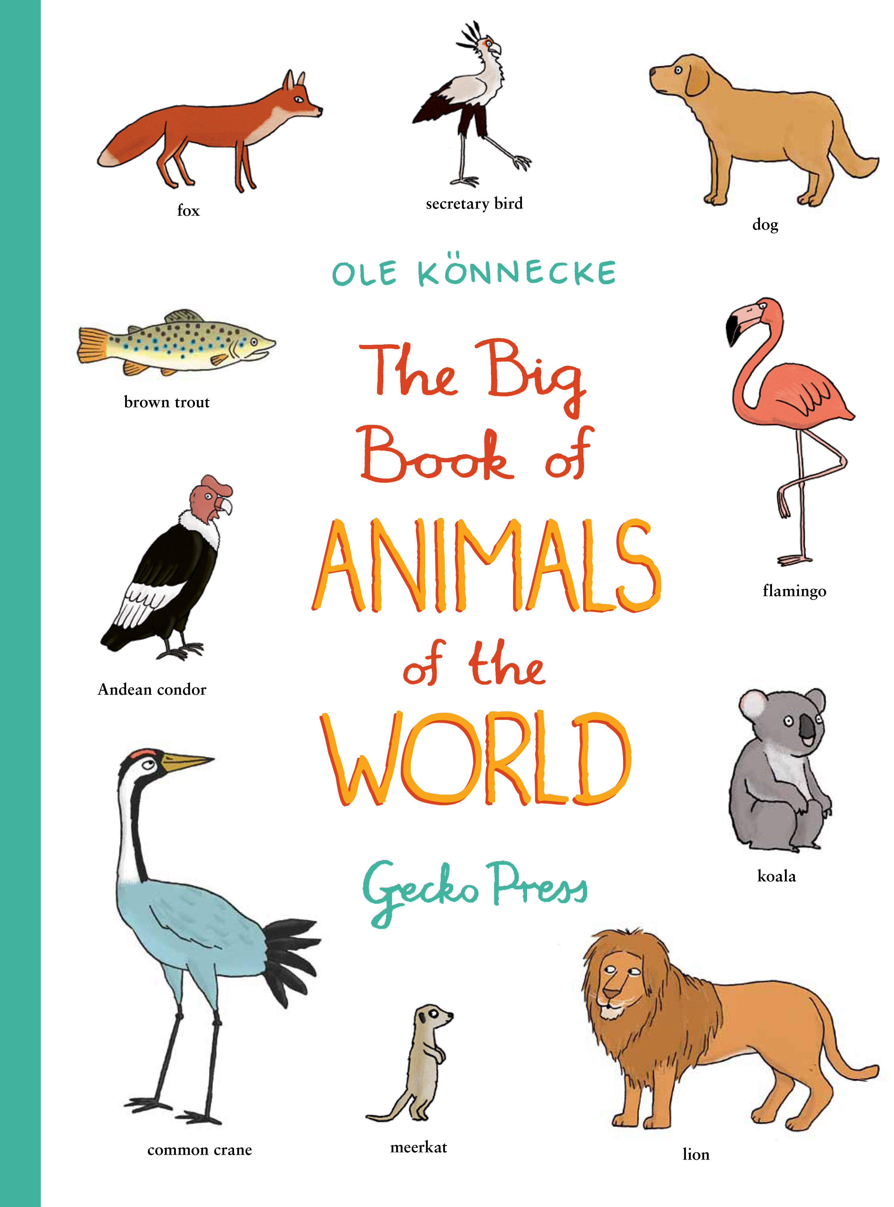 Book Review The Big Book Of Animals Of The World