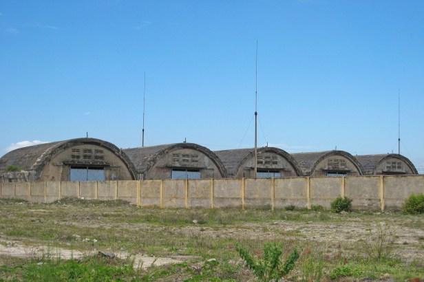 Old hangars