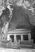 One of the many caves