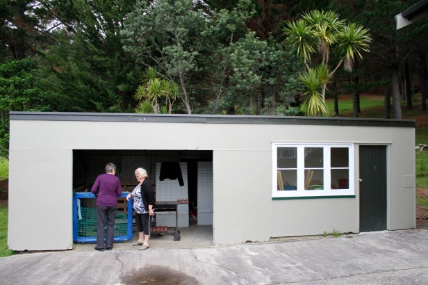 The old shelter shed