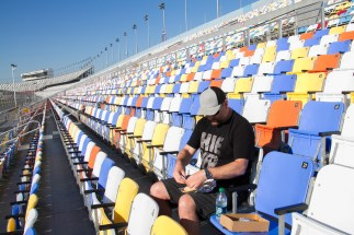 Eat a bagel for breakfast in the grandstand at Daytona? Don't mind if we do