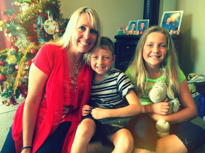 Annmarie and her gorgeous kids