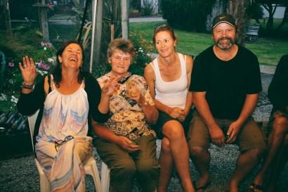 Beth, Aunty Hazel, Maggie & Ian