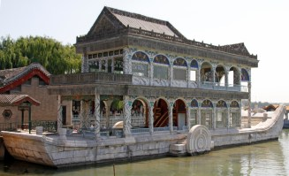 The Marble Boat - though it's not actually a boat and it's not actually made of marble!