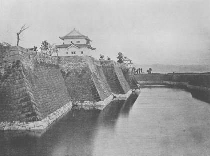 Osaka Castle 1903 - Photo From the National Diet Library