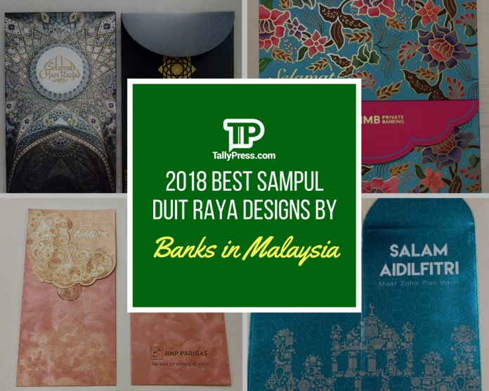 2018 Best Sampul Duit Raya Designs by Banks in Malaysia
