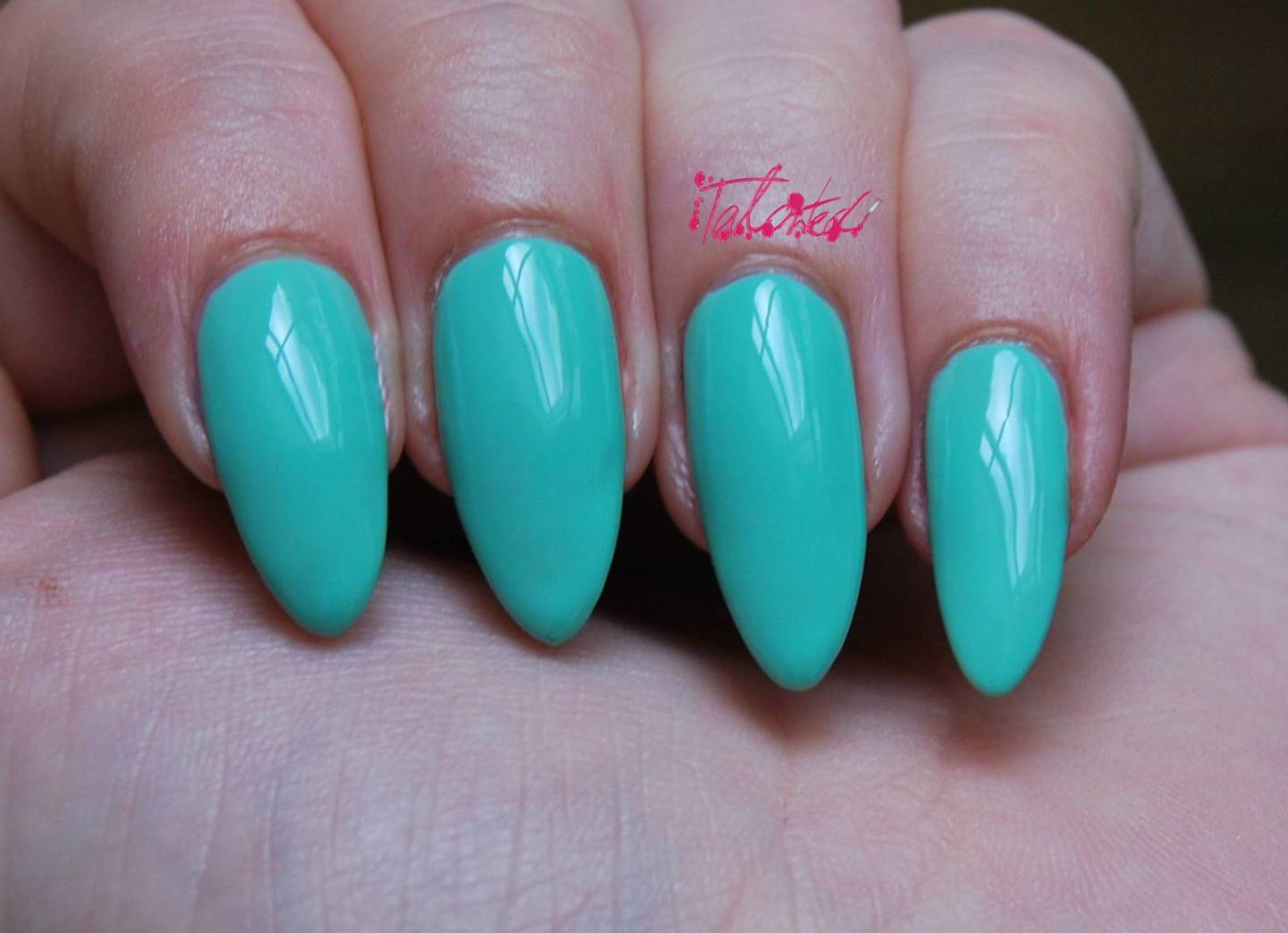 Barry M Mint Green 304 Review