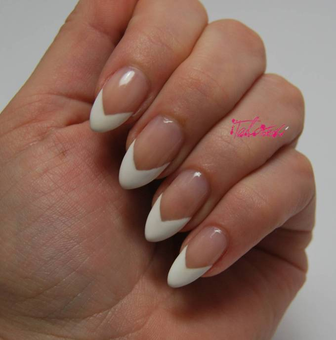 A Modern French Manicure