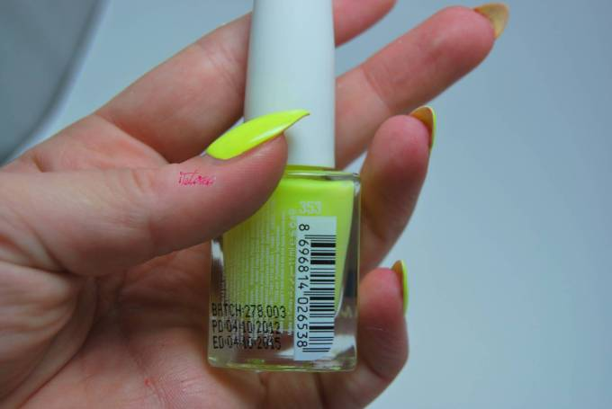 Rapsodi 353 nail varnish