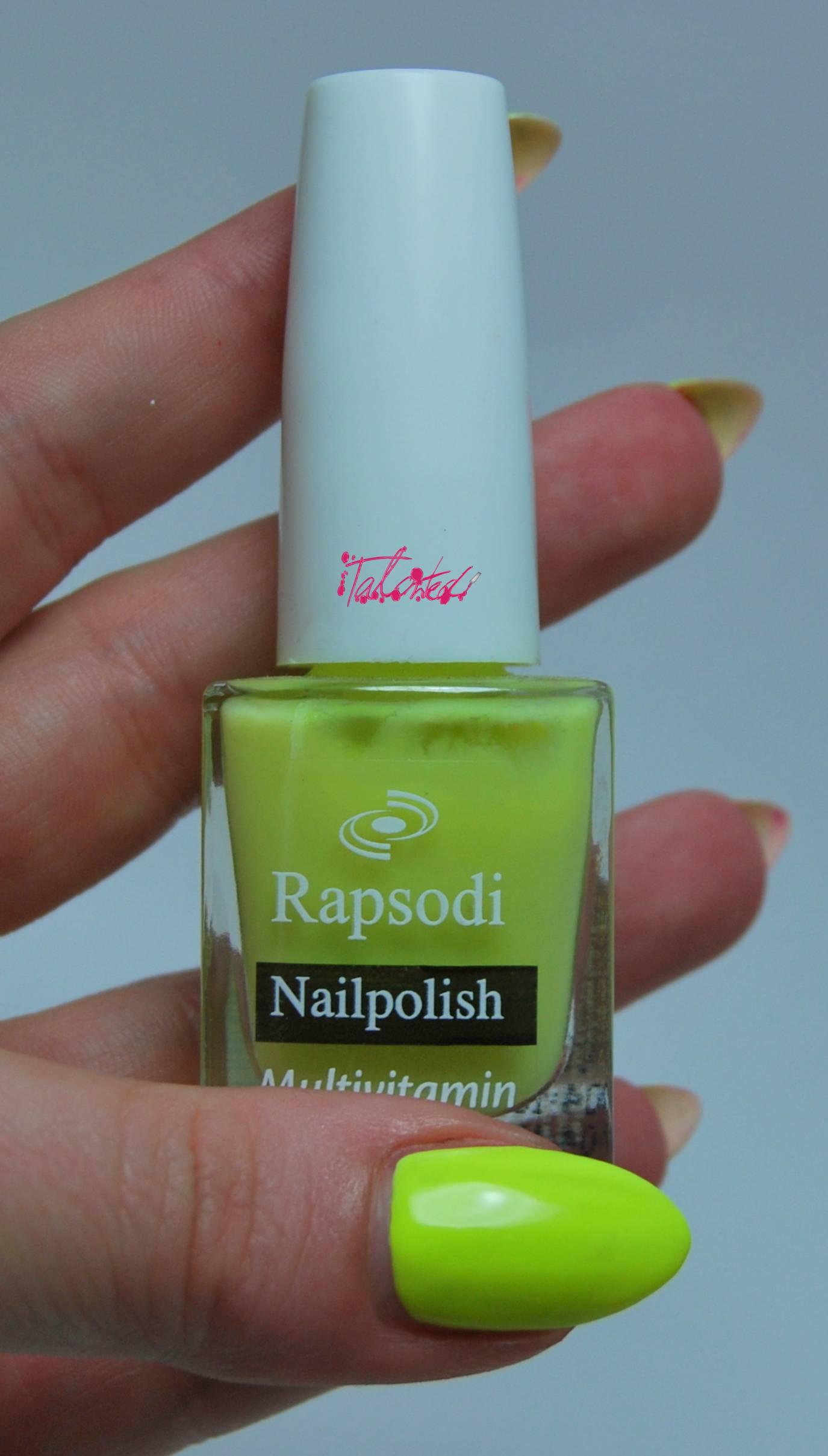Rapsodi 353 nail varnish