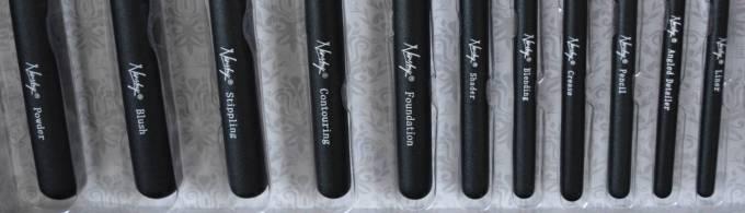 Nanshy Masterful Collection Make Up Brushes