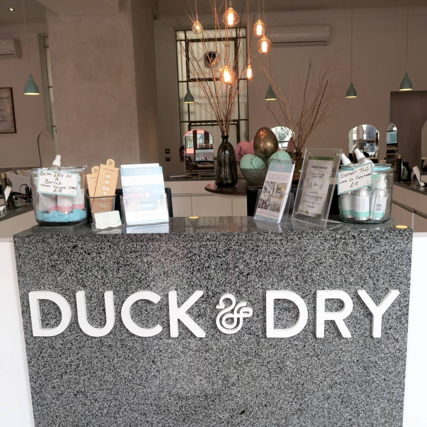 Duck and Dry blow dry