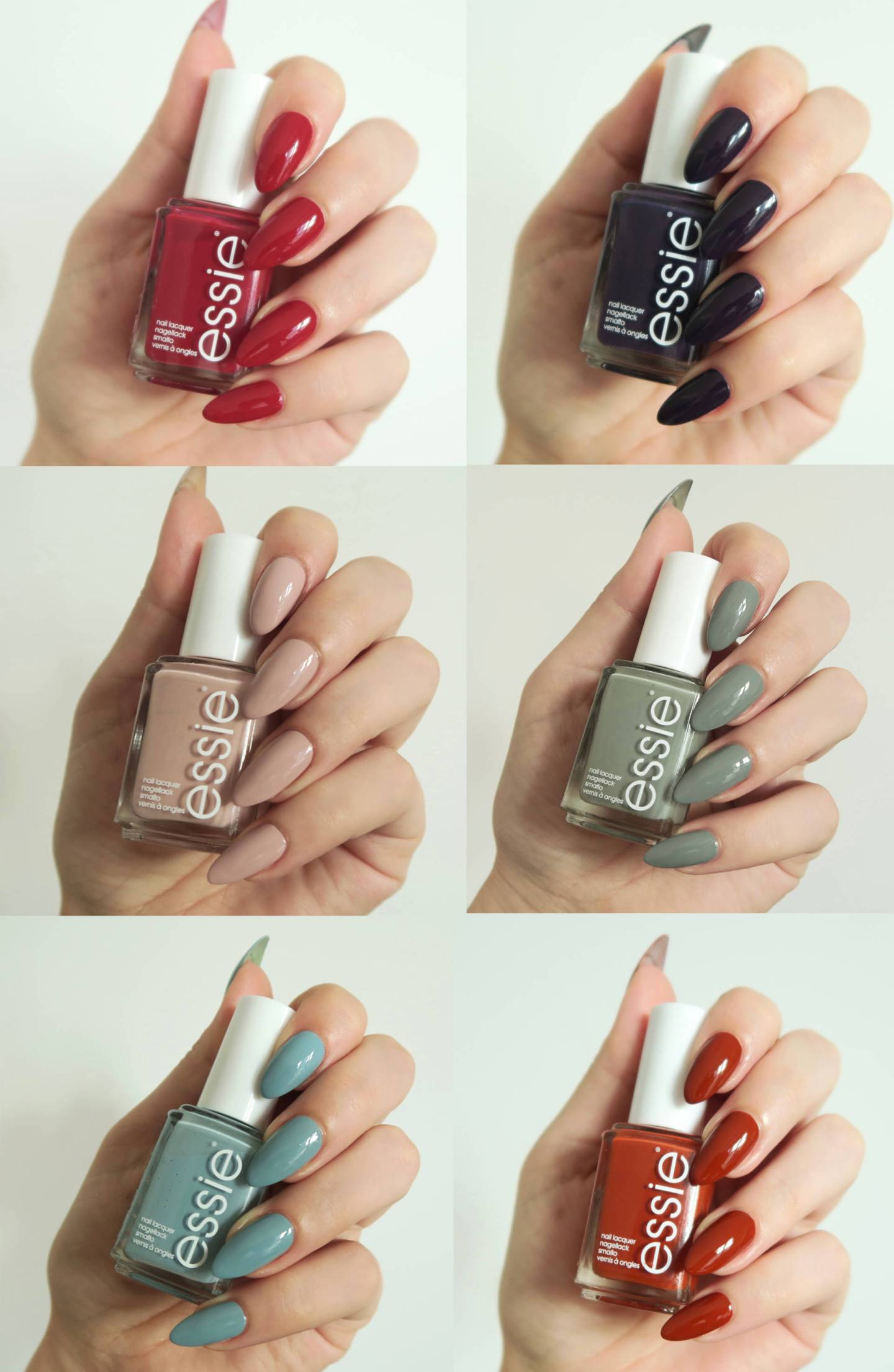 Essie Fall Collection 2016 Tokyo - Talonted Lex