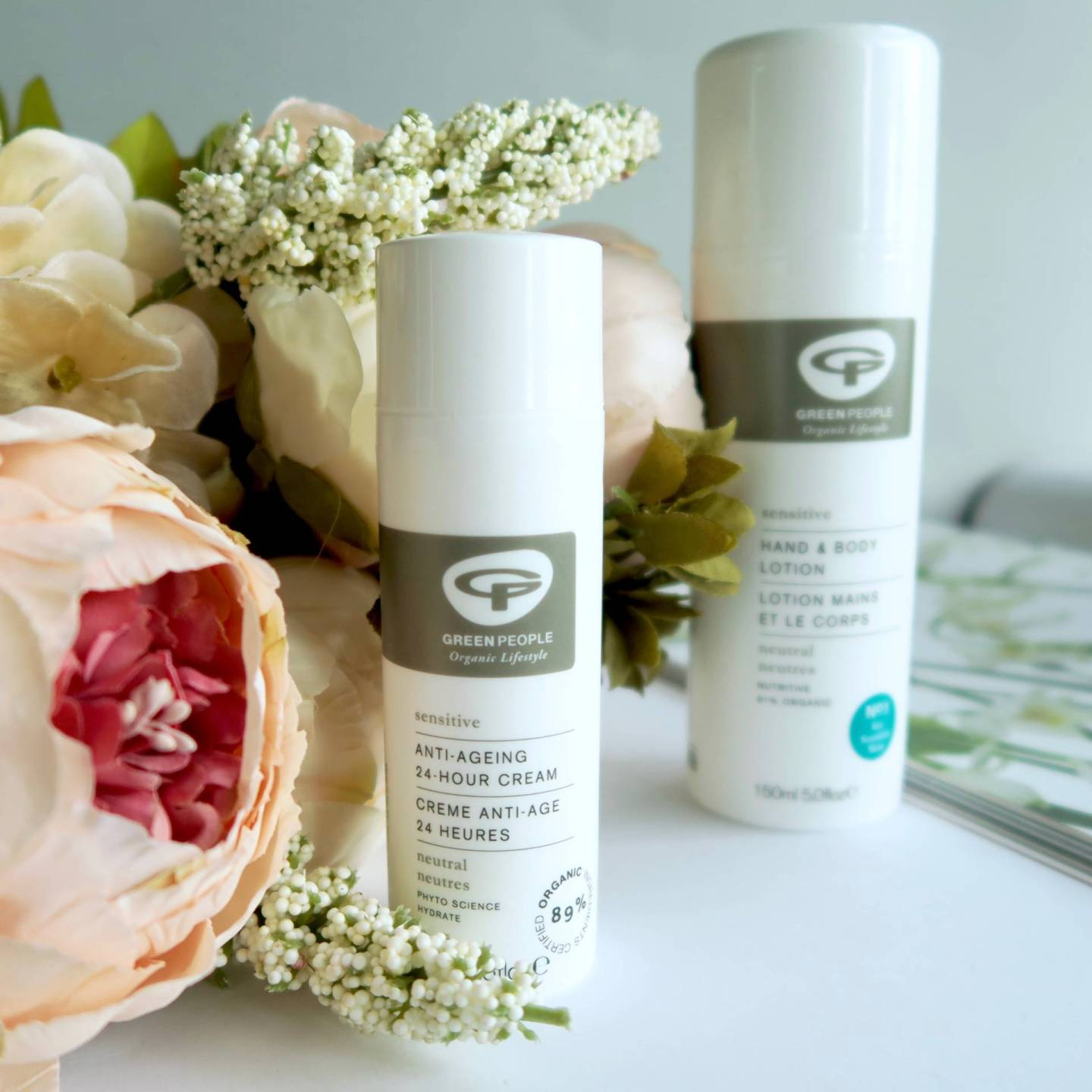 Go Fragrance-Free with Skincare from Green People - perfect for sensitive skin // Talonted Lex