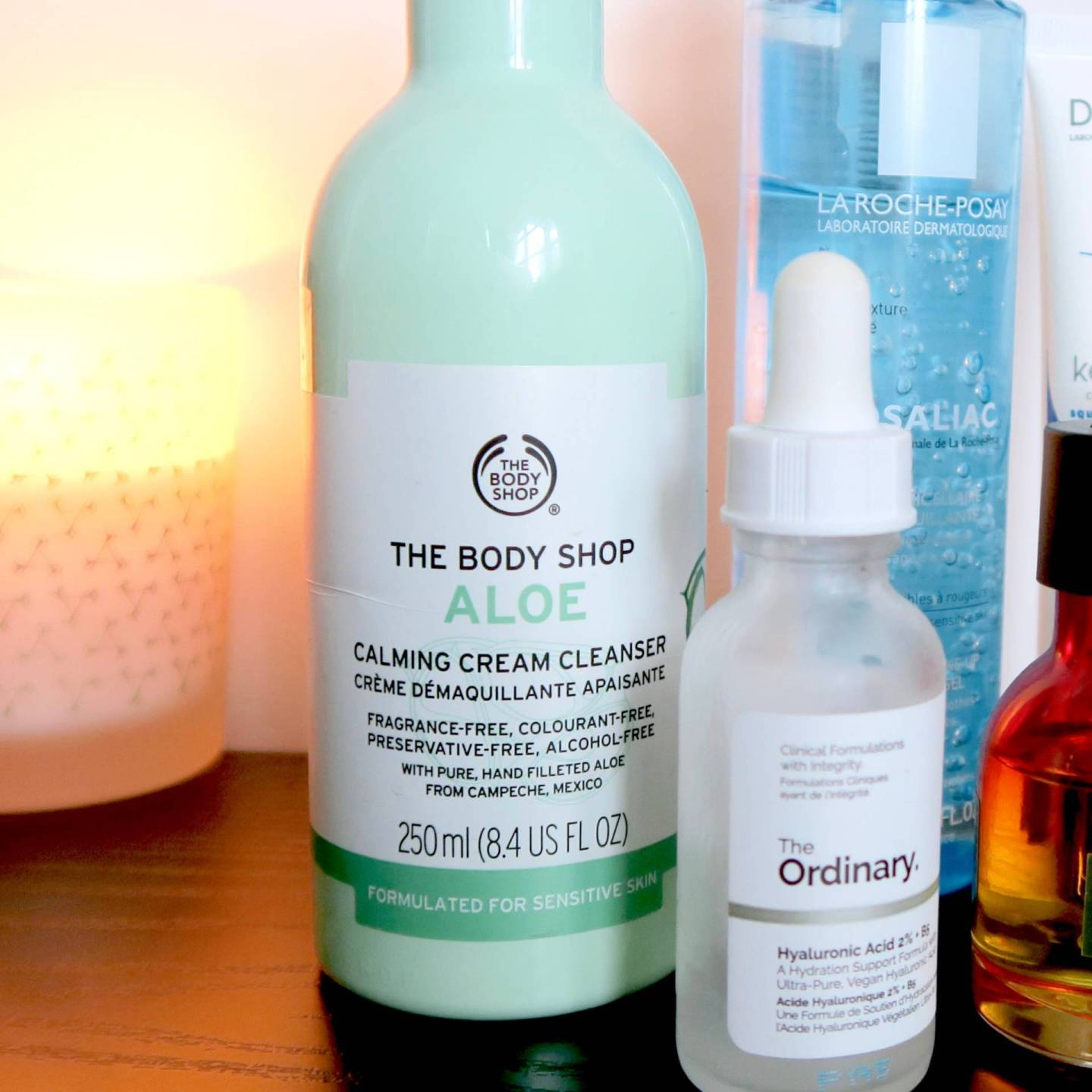 Skincare for rosacea and sensitive skin - The Body Shop Aloe Calming Cream Cleanser