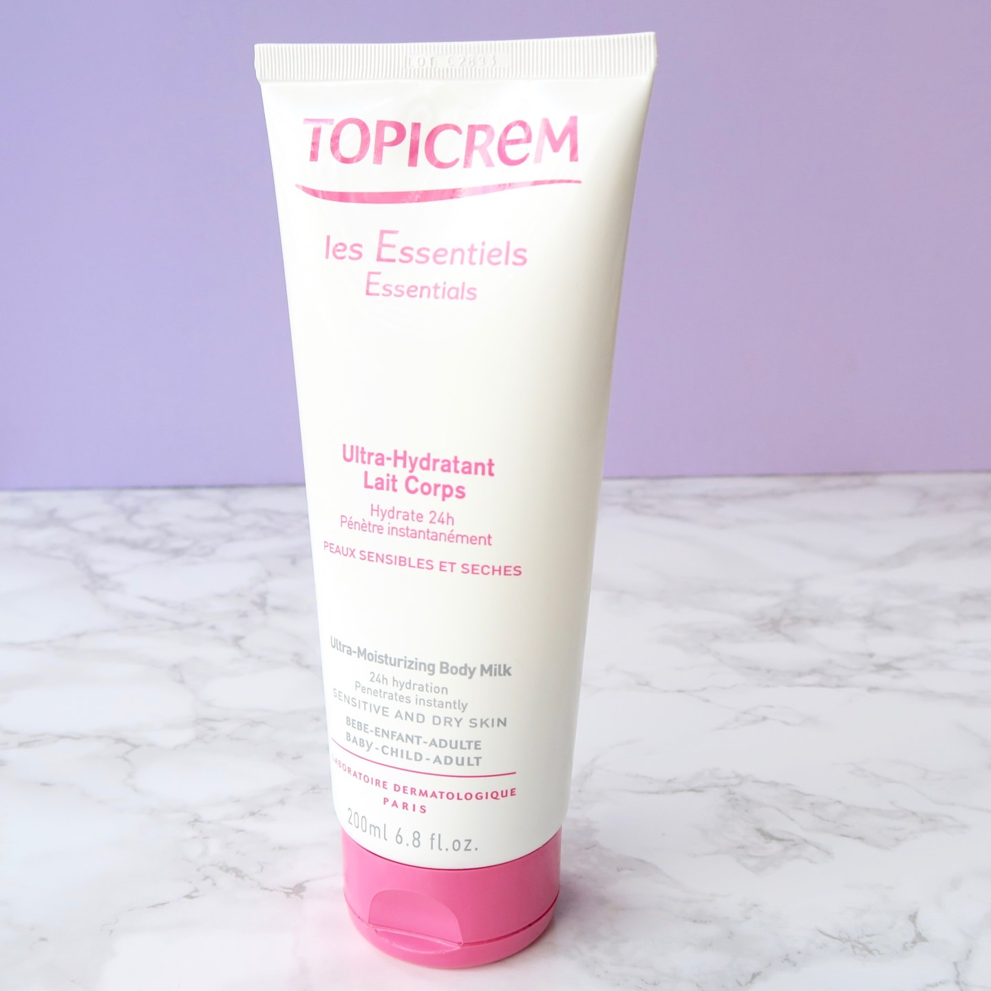 Friday Faves - Topicrem, a great body moisturiser for sensitive skin