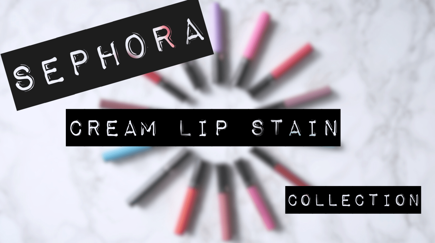 Sephora Cream Lip Stain collection - the best matte liquid lipsticks that I've ever tried