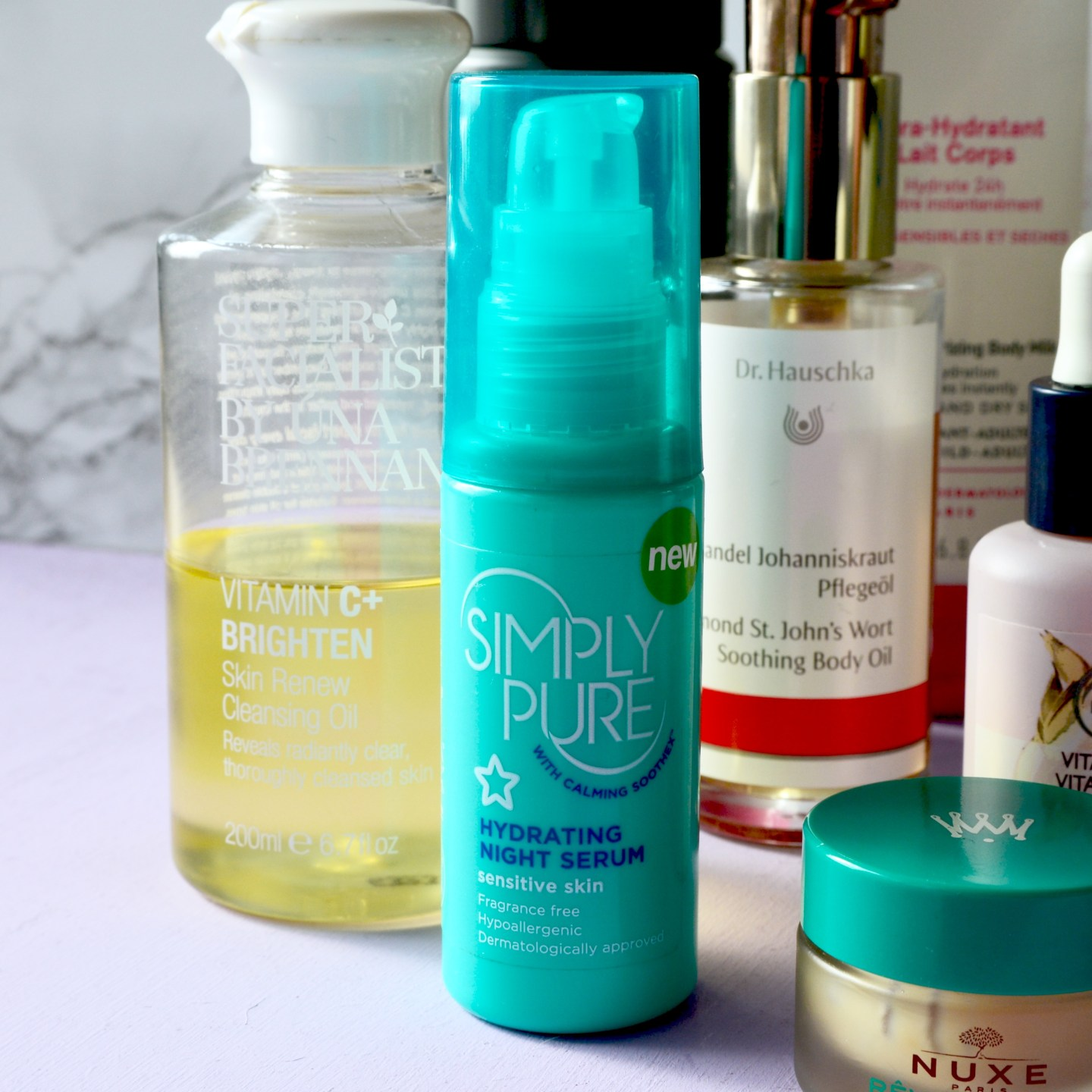 Skincare Shake Up: Simply Pure serum (sensitive, rosacea skin)