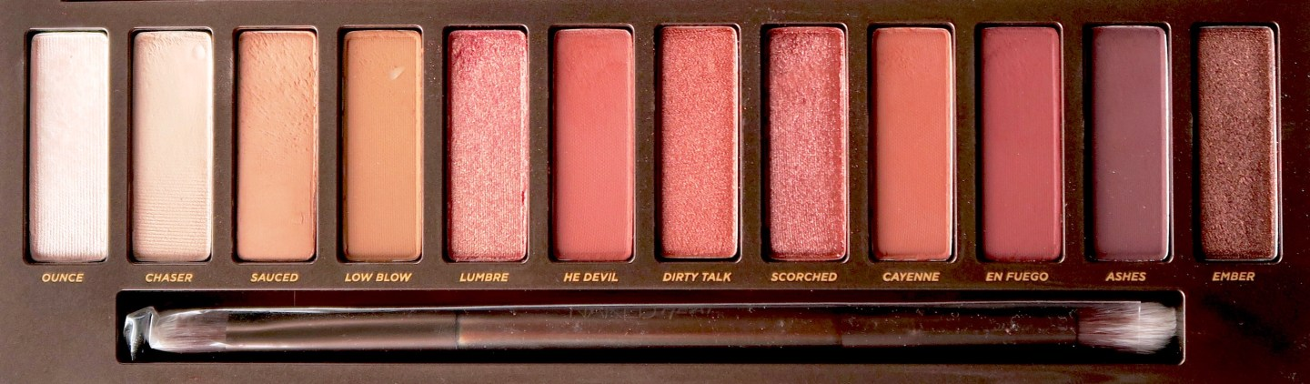 Urban Decay Naked Heat palette review: three looks, one palette