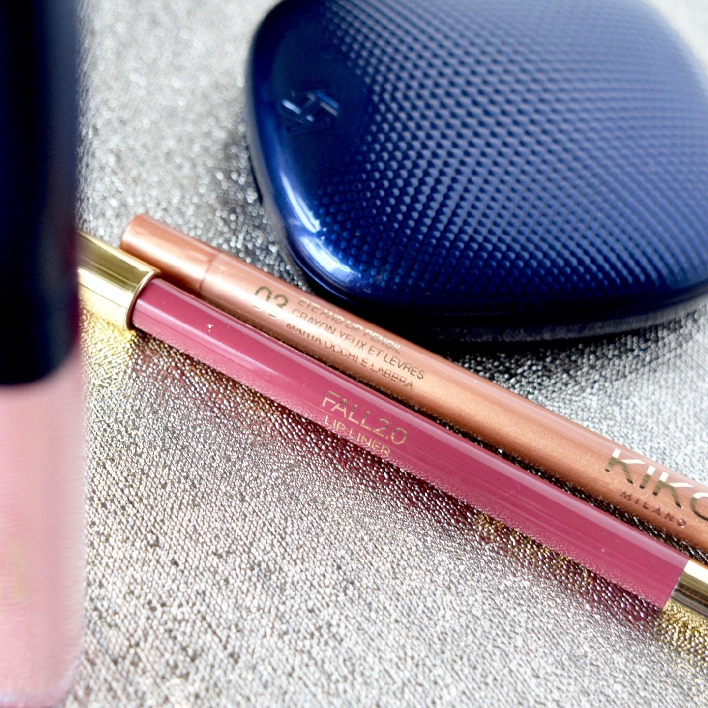 Kiko Fall 2.0 Collection lip and eyeliners