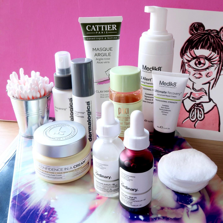 Skincare Shake Up October 2017 - full skincare routine for sensitive/rosacea skin