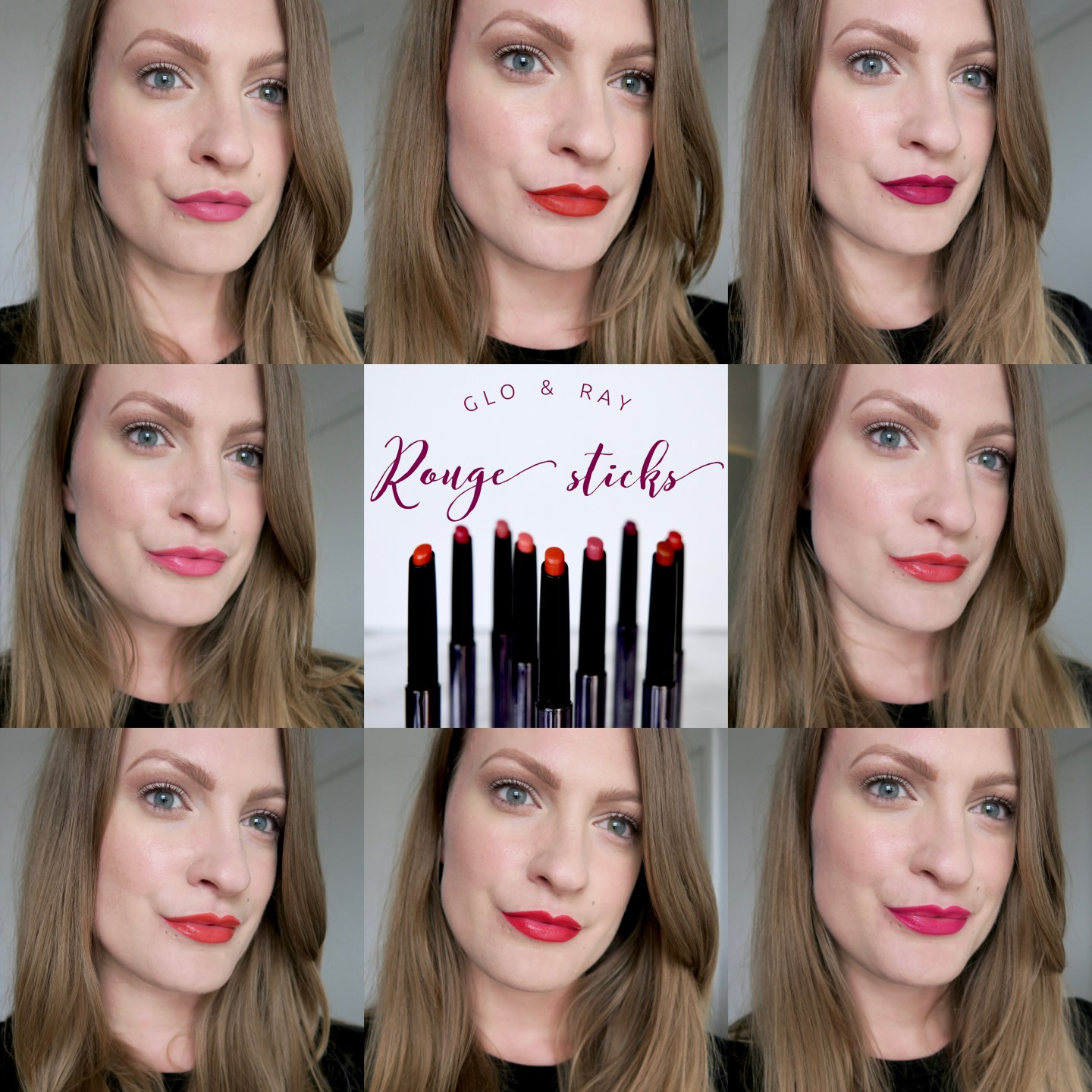Glo & Ray Rouge Sticks Review