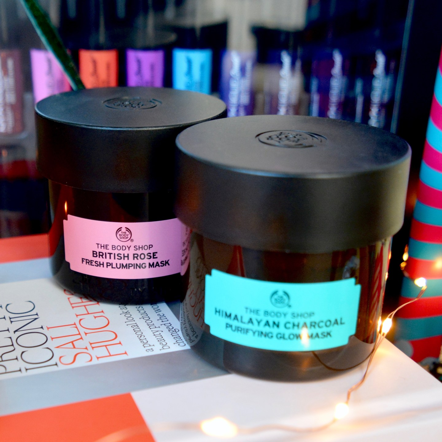The Body Shop face masks (Beauty Lover's Gift Guide)