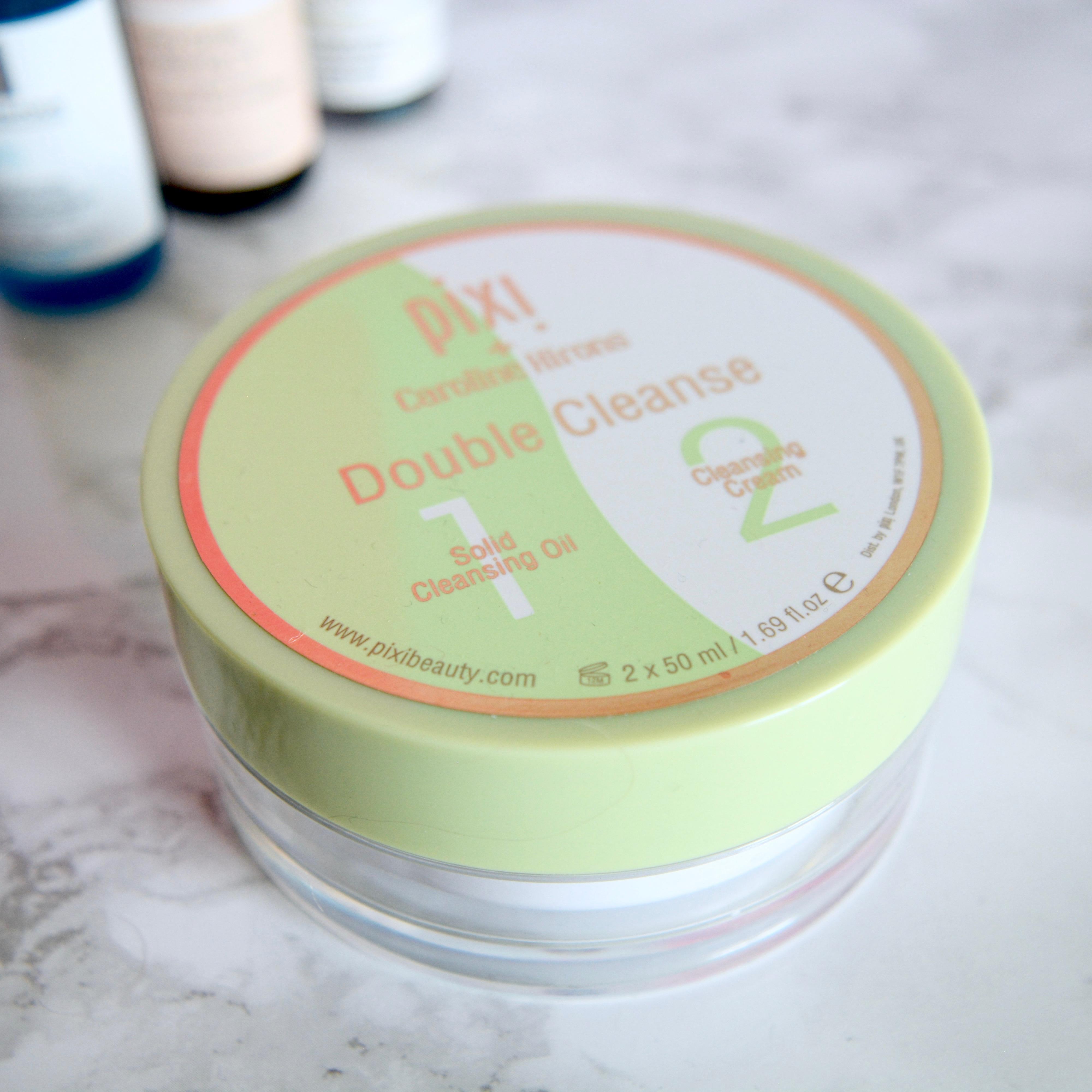 Pixi x Caroline Hirons Double Cleanse (Skincare Shake Up - full skincare routine for rosacea, sensitive skin)