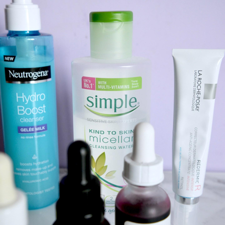 Simple micellar water (Skincare Shake Up - full skincare routine for rosacea, sensitive skin)