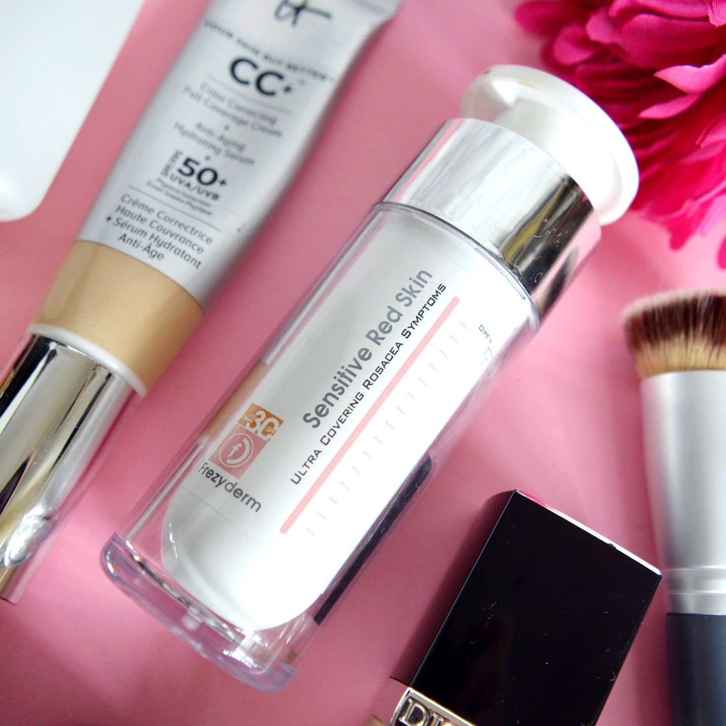 My tips for how to achieve a flawless base: all my favourite foundations and application methods (all suitable for sensitive, rosacea skin)