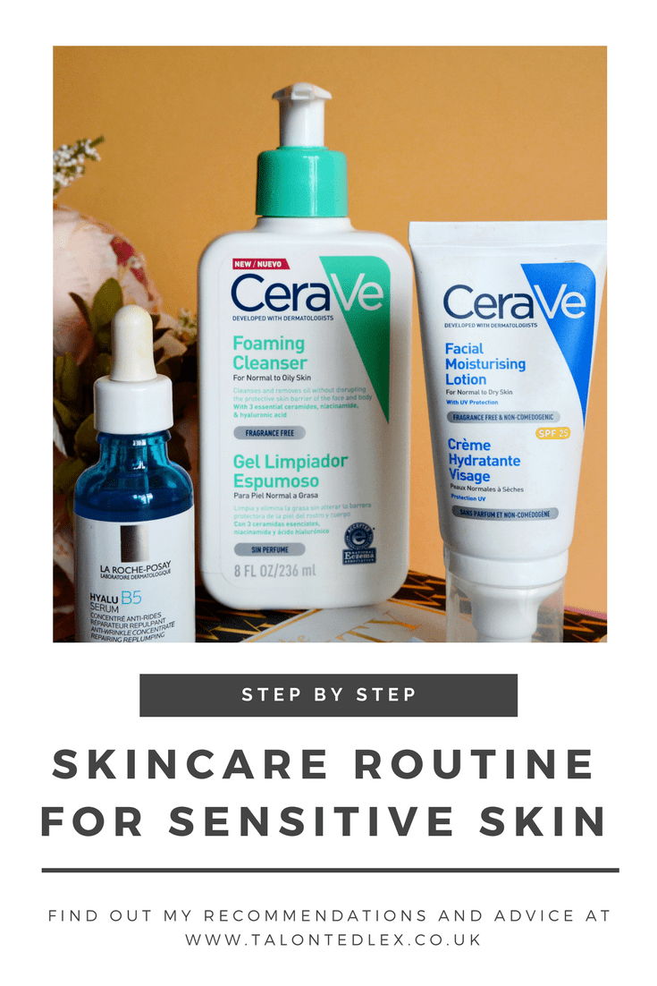 My current skincare routine: Products for rosacea, sensitive skin (rosacea, sensitive skin)