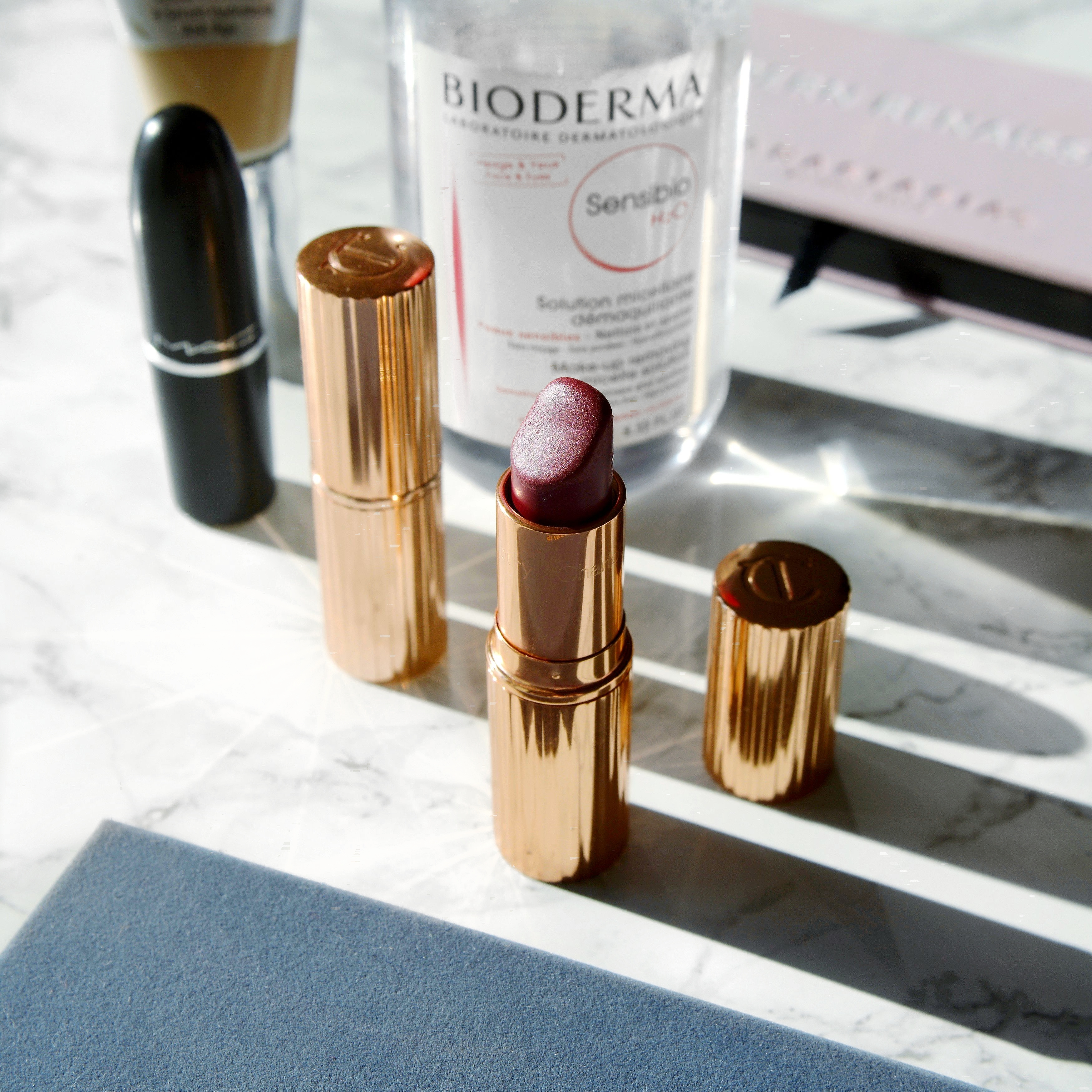 Internet inspired beauty: the make up and skincare that I was influenced to buy by the internet. Cult make up and skincare and whether I'd repurchase. Overrated beauty or must haves? Charlotte Tilbury lipsticks. #talontedlex #beautyproducts