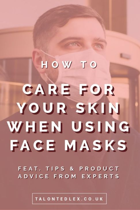 How to look after your skin when wearing a face mask. Skin irritation, acne, hives, rashes, and sores are common when wearing protective masks, I'm sharing skincare tips from experts. Sensitive skincare. #talontedlex #rosacea #skincaretips