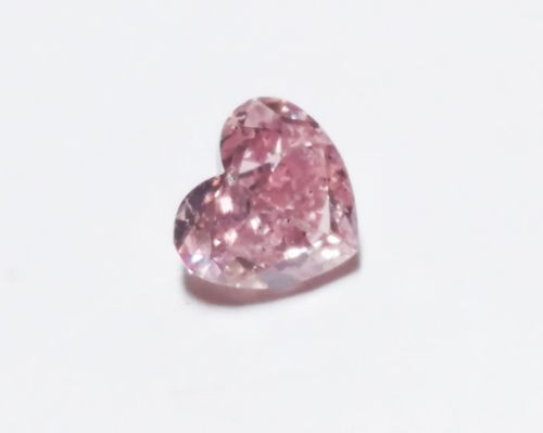 0.38ct Natural Loose Fancy Purple Pink Color Diamond GIA Certified Heart SI2