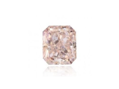 0.22ct Pink Diamond - Natural Loose Fancy Light Pink Color Diamond VS1 Radiant