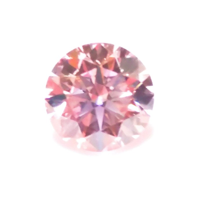 Pink Diamond - 0.23ct ARGYLE Natural Loose Fancy Light Pink Color GIA Round SI1
